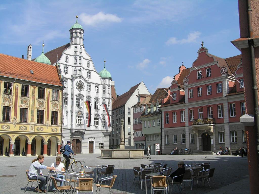 memmingen swabian towns in bavaria. Black Bedroom Furniture Sets. Home Design Ideas